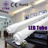 Wholesale t8 led tube plastic 18w 120cm 270deg pf>0.6 1450lm 120smd1835 AC180-285V CE ROHS from china suppliers