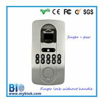 Wholesale Cheap Metal Fingerprint and PIN Door Lock without Handle (BIO-LA200) from china suppliers