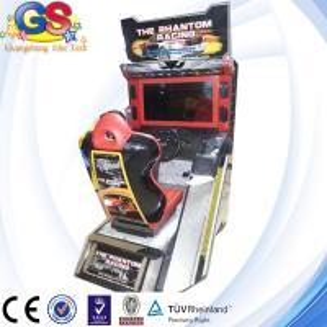 The Phantom Racing car racing game machine
