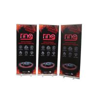 Wholesale Floor Standing Roll Up Banner Display Vertical Easy Carry Professional Artwork from china suppliers