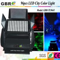 China 96x10W DMX512 RGBW 4 in 1  LED City Color Outdoor Waterproof IP65 Stage Lighting wholesale