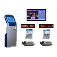 Wholesale Government LCD Counter Ticket Kiosk Based Queue Management System from china suppliers
