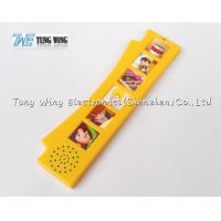 Wholesale Orange Durable Button Sound Book Baby sound chips for cards from china suppliers