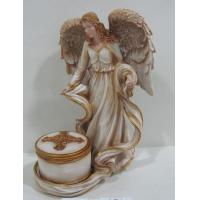 Wholesale Poly resin art Fairies and Angel Collectible Figurines collectibles for anniversary gifts from china suppliers