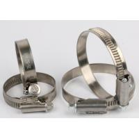 China 9mm Non Perforated Hose Clamps Pipe Clamp Without Welded Housing Design on sale