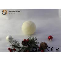 China Luxury Real Wax Electronic Candles with ball shape  , Carved Craft  LED Candles wholesale