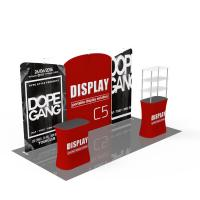 Wholesale Light Weight Trade Show Poster Display Popular 10ft*10ft Convenient Operation from china suppliers