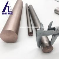 Wholesale Metal color 75W25Cu Tungsten copper alloy rod polished surface from china suppliers