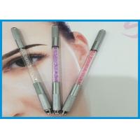 China Tattoo Gun Type / Manual Gun Type 3d Eyebrow Tattoo Pen With Two Side Head wholesale