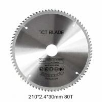 Wholesale 6600RPM	TCT Circular Saw Blade 80T , Multi Functions Rotation Cutting Tools from china suppliers
