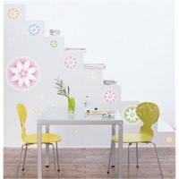 Wholesale DIY Art Mural Sticker/ Art Mural Deco/ wall sticker Lotus Blooming (home, window, decorative sticke from china suppliers
