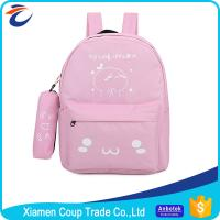 Wholesale Canvas Materials Secondary School Bags For Teens Washable And Large Capacity from china suppliers