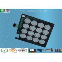 Wholesale PET 0.125mm Base Capacitive Touch Button Circuit FPC Membrane Switch Customized from china suppliers