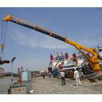 Wholesale Hydraulic Telescopic Boom Crane for Ship / Vessel With CCS / BV Certificate from china suppliers