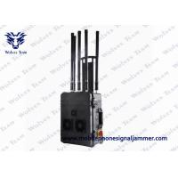 Wholesale VIP Security Cell Phone Signal Jammer 300W 6 Channels With Built In Efficient Cooling Fan from china suppliers