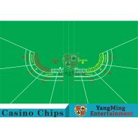 Polyester Fabric Casino Table Layout Can Be Folded Convenient To Carry