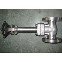 Wholesale Intergral flange Cryogenic Gate Valve Extended Bonnet F304 API 602 from china suppliers