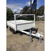Customized Tray Top Trailer  8x5 Tandem Trailer With Or Without Sides