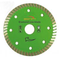 Wholesale 7 Inch Super Thin Diamond Saw Blade Hot Pressed Sintered With 22 / 23mm Inner Hole from china suppliers