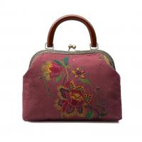 Wholesale Embroidery Daisy Purses & handbag,Cosmetic bag,Clutch bag,Metal frame purse from china suppliers