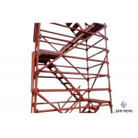 Wholesale 2500X1200mm Highways Scaffold Stair Tower Good Overall Stability With Twin Guardrail from china suppliers