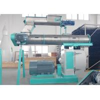 China Commercial Poultry Feed Pellet Machine Ring Die Type With Three Phase Motor on sale