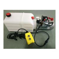 Buy cheap DC 24V 1600W Motor Horizontal Single Acting Mini Hydraulic Power Packs for Dump from wholesalers