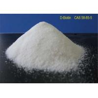 Buy cheap White Powder Local Anaesthesia Drugs D - Biotin CAS 58-85-5 For Reducing Blood from wholesalers