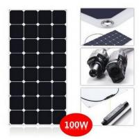 SunPower Flexible 100 Watt Solar Panel Kit For RV With CE ROHS Certificated