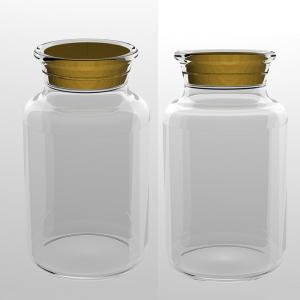 Wholesale ISO45001 Pudding Glass 300ml Flint Jar Production Line from china suppliers