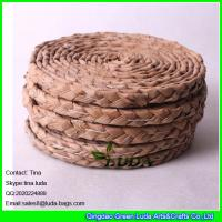 e94a6a8829 ... Quality LUDA handmade woven straw placemats natural fiber oval  placemats for sale ...