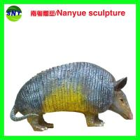 Wholesale life size artificial statue   pangolin model  doll as decoration statue in garden park from china suppliers