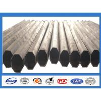 Wholesale Polygonal Galvanised Steel Pole for Distribution with min yield strength 345 Mpa from china suppliers
