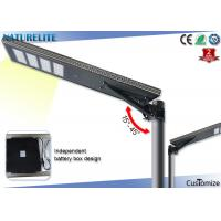 Wholesale IP65 Bridgelux 80W Solar Led Street Lights With Patent Smart MPPT Controller from china suppliers