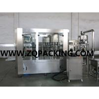 Buy cheap High quality 4 in 1 fresh water filling line from wholesalers