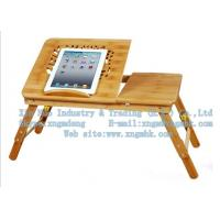 Wooden computer desk, wooden laptop table, wood bed, computer desk of