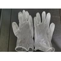 Buy cheap Disposable vinyl glove powder free non rubber pvc material CE Certificated from wholesalers
