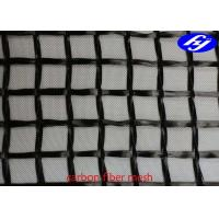 Wholesale 20MM X 20MM Carbon Fiber Mesh Fabric Sustainable Concrete For Structure Reinforcement from china suppliers