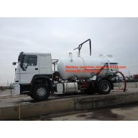 Wholesale SINOTRUK HOWO Sewage Suction Truck 10000L-15000L 4X2 6 Wheels Liquid Waste Trucks from china suppliers