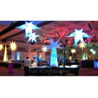 Wholesale Party Stage Decoration Color Changing Inflatable Star With CE / UL Air Pump from china suppliers