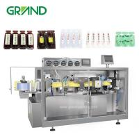 Wholesale Olive Oil Plastic Ampoule Filling And Sealing Machine / Automatic Liquid Filling Machine from china suppliers
