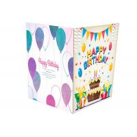 China Colorful Printing Audio Musical Greeting Card Paper PCBA With Sound Chip Module on sale
