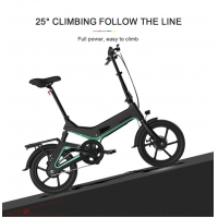 Wholesale 350W Motor 36V 7.5Ah 16 Inch Folding Electric Bike from china suppliers