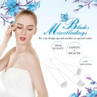 Buy cheap 0.25mm Eyebrow Tattoo Flexi Microblading Blades For Permanent Makeup from wholesalers