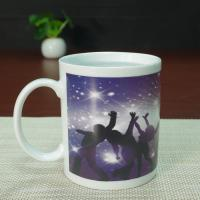 China Full printing heat sensitive color changing mugs dance coffee mug wholesale
