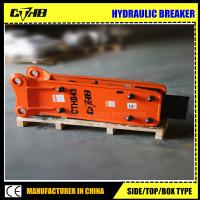 Wholesale 2018 hot sale Side type Hydraulic breaker for 19-26ton excavator from china suppliers