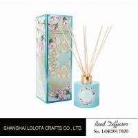 Durable Scent Sticks Fragrance Diffusers Colorful Folding Box Packaging