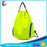 Wholesale Eco Friendly Washable Coloured Drawstring Bags / Gym Sack Drawstring Bag from china suppliers