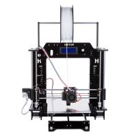 Quality High Printing Accuracy Mini PLA / ABS Filament DIY 3D Printers with Installation Tools for sale