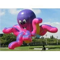 Wholesale 0.18mm Octopus Inflatables Giant Advertising Balloons For Outdoor Tradeshow from china suppliers